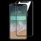 Folie Protectie Ecran Sticla 3D Full Cover Cellara Pentru iPhone X - Negru