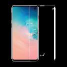 Folie Protectie Ecran Sticla 3D Full Cover Ultra Sonic Cellara Pentru Samsung Galaxy S10 - Negru