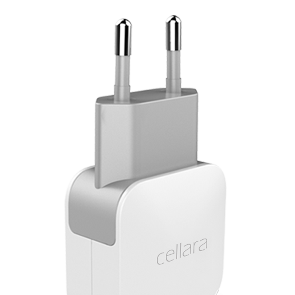 Incarcator Retea Cellara Multiport 4 Usb 1A/1A/2.4A/2.4A