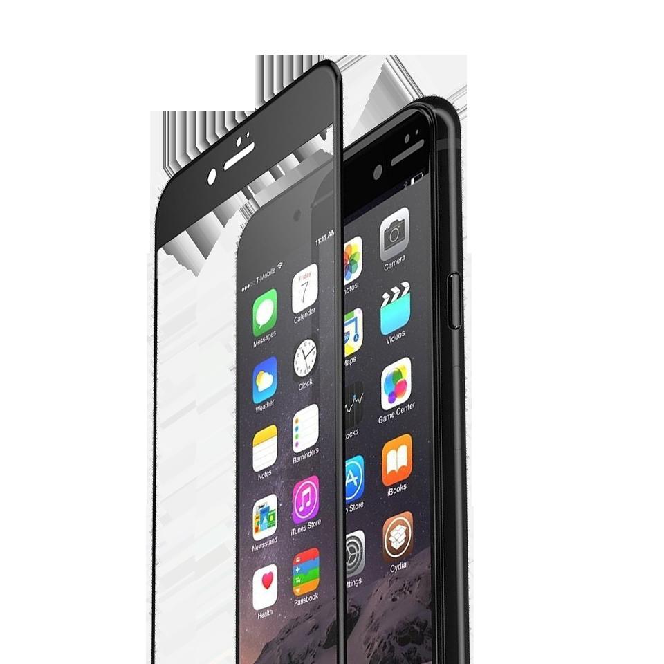 Folie Protectie Ecran Sticla 3D Cellara Pentru iPhone 6/6S - Neagra