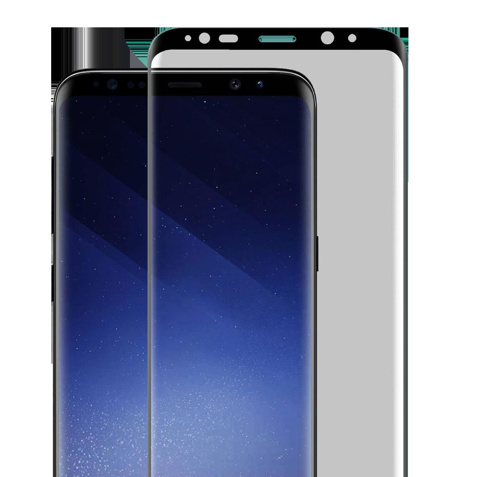 Folie Protectie Ecran Sticla 3D Cellara Pentru Samsung Galaxy S9 Plus - Negru